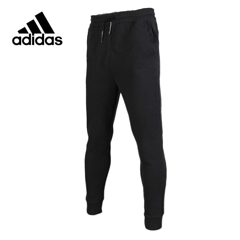 Original New Arrival Official Adidas NEO Men's Black Full Length Training Leisure Pants Sportswear original new arrival official adidas women s tight elastic training black pants sportswear