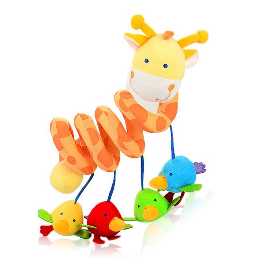 beb cama cuna cama de beb mvil musical de juguete jirafa jouet landau poupee en la
