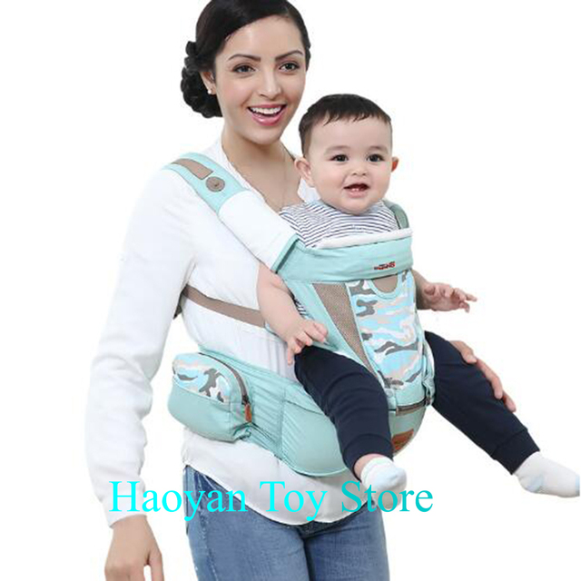 bbee354634d 2-36 Months Toddler Adjustable Safety Strap Baby Breathable Cap Carrier  Multifunctional Hip Seat Infant Comfortable Wrap Seat