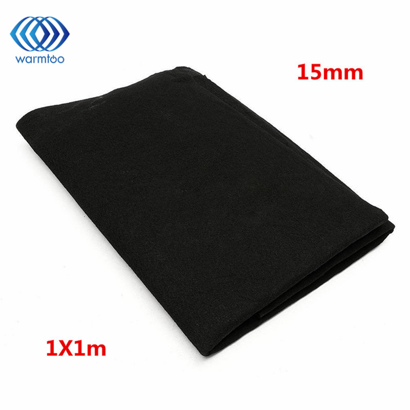 1m x 1m Thickness 10mm/15mm Home Fabric Black Air Conditioner Activated Carbon HEPA Air Purifiers Accessories Purifier Filter r22 boyard rotary compressor 220v 50hz for home air conditioner accessories