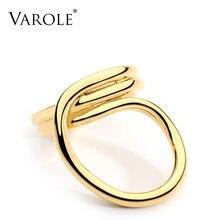 Varole Новый корейский простой Стиль с переплетенными линиями