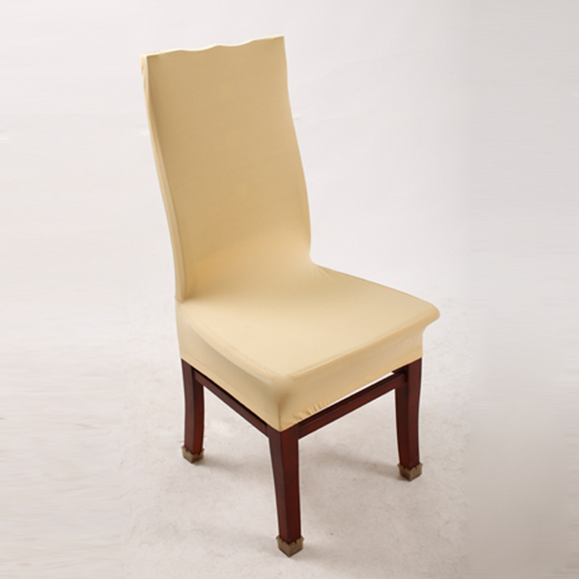 chair seat covers. Champagne Polyester Spandex Dining Chair Covers For Wedding Party  Cover Seat CR005690429 Chair Seat Covers
