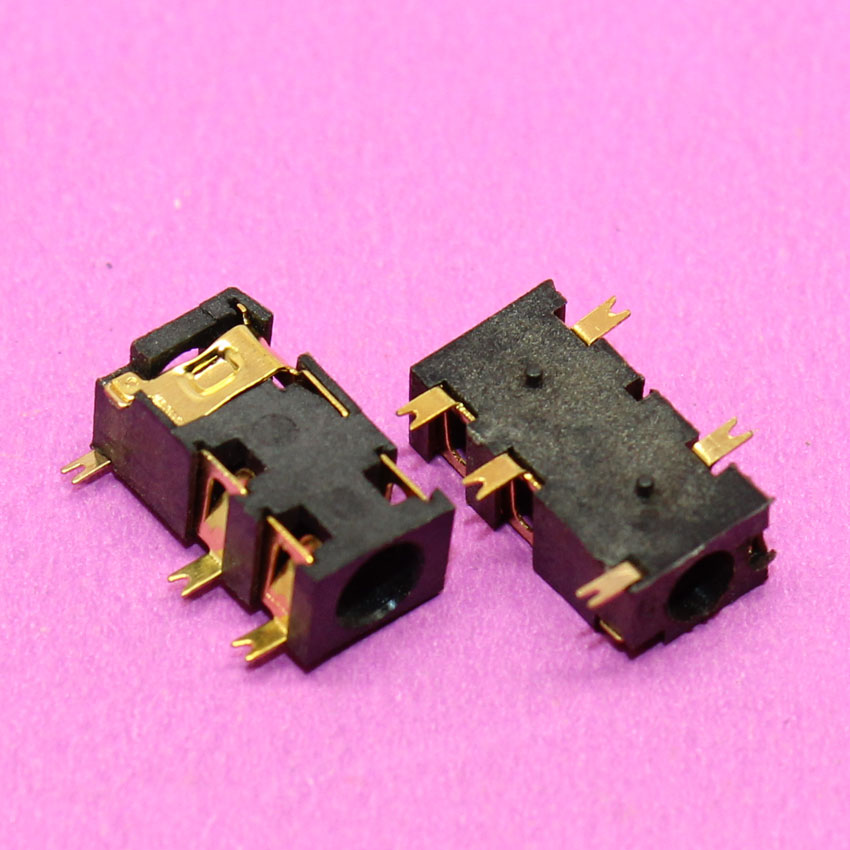 New Gold Plated 3.5mm Stereo Socket Jack Right Angle Plug Audio Connector Panel PCB SMD 5pin gold plated socket pixhawk px4 247