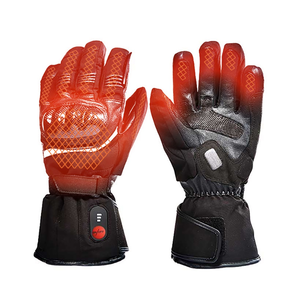 SAVIOR heating gloves thickened battery heating warm outdoor gloves motorcycle gloves shatter resistant gloves shell|Cycling Gloves| |  - title=