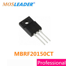 Mosleader MBRF20150CT TO220F 100 adet MBRF20150C MBRF20150 20A 150V Schottky çinde yapılan yüksek kaliteli