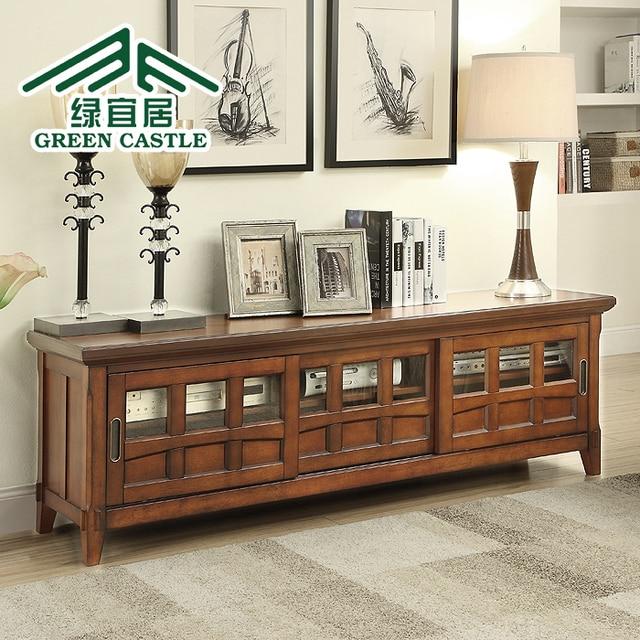 Amerikaanse groene leefbare eenvoudige combinatie salontafel tv ...