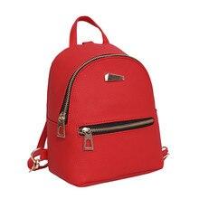 2d464ae0c1 MINI PU Backpacks Baby Mini Schoolbag kindergarten Backpack Red Children  School Bags for Girls Boys(