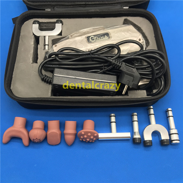 2019 Powerful 950N 10 Heads Chiropractic Adjusting Tools Correction Gun Spine therapy impulse Massager tools