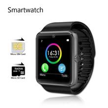 GT08 SmartWatch Kamera Sync Notifier Android Montre Connecte Sim-karte Uhr Movil Reloj Inteligente GT08 Bluetooth Orologio