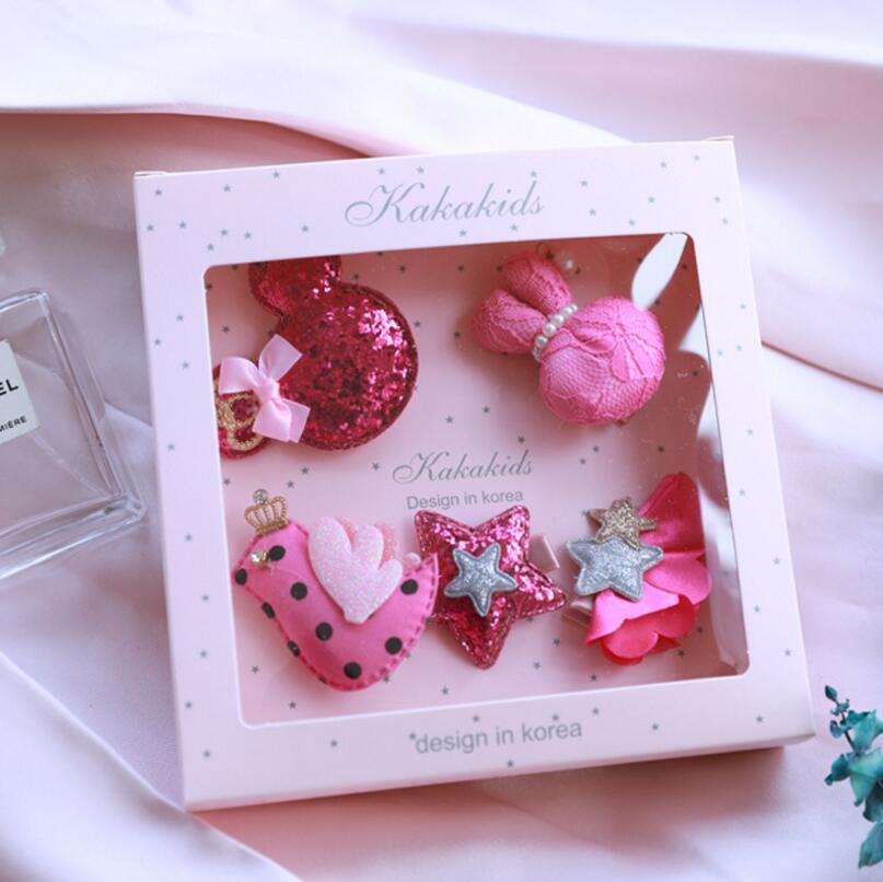 Nova djeca Dječji dodaci za kosu poklon kutija Cvijeće Isječci za - Pribor za odjeću - Foto 3