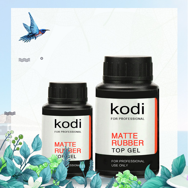 2018 Kodi Long Lasting UV Rubber Matte Top Gel Polish UV Nail Primer ...