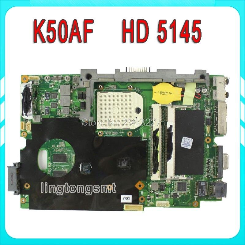 for Asus K50AF laptop motherboard K40AB K40AD K40AF K50AB K50AD K50AF mainboard 100% tested hot for asus x551ca laptop motherboard x551ca mainboard rev2 2 1007u 100% tested new motherboard