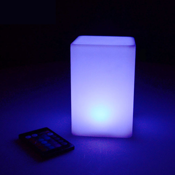 LED lights IP68 Outdoor Waterproof Garden Landscape Mood Light USB Rechargeable Remote Control RGB Colorful LED Night Lamp waterproof colorful led cube night light vc a300