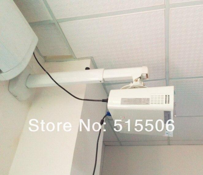 free shipping 420600mm length adjustable short throw projector wall projector wall - Projector Wall Mount
