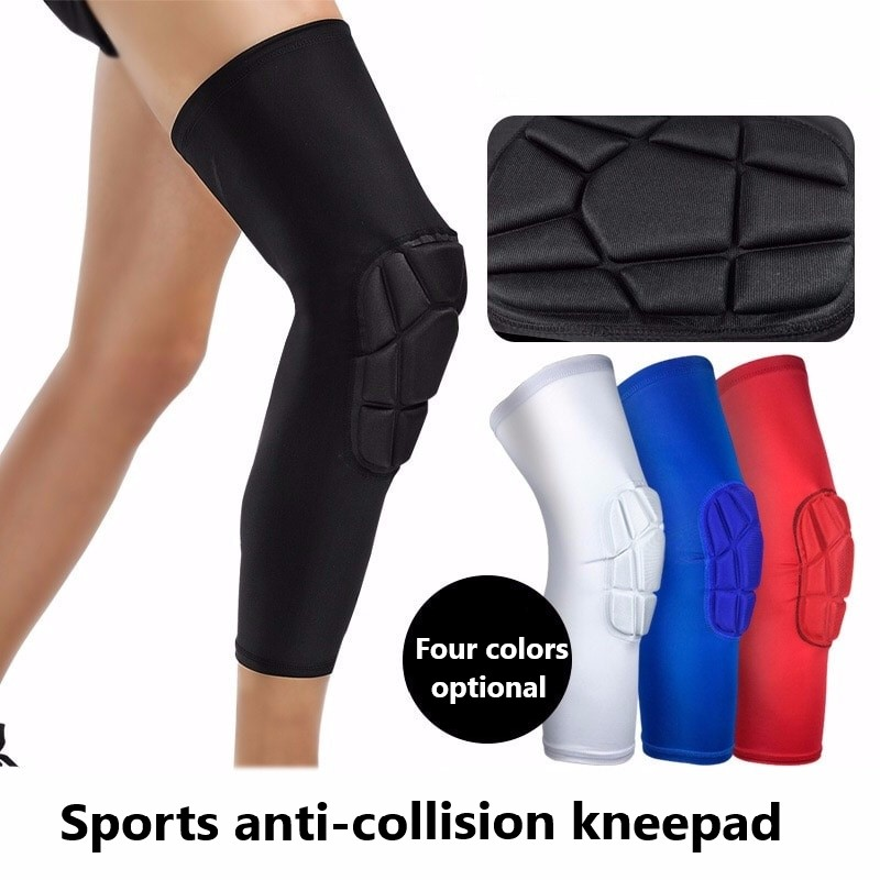 Outdoor Sports Knee Sleeve Sports Gear Kneepad Basketball Hiking Football Honeycomb Anti-collision Lengthening Kneepad