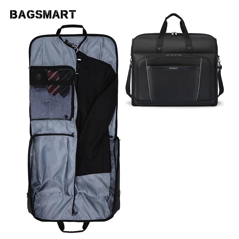 Bagsmart Carry On Garment Bag Waterproof Travel Suit
