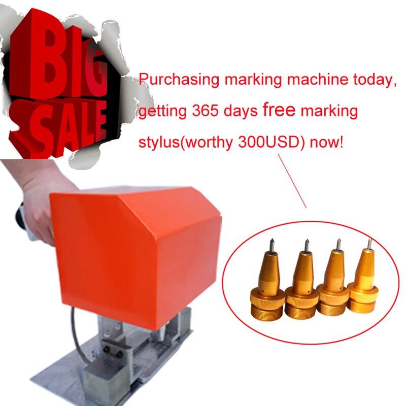 Купить с кэшбэком Marking Serial Numbers on Metal CNC Pneumatic Engraving Machine Prices