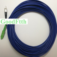 Armoured armored Patch Cord Jumper Cable SC/APC FC/UPC SM Simplex GoodFtth 20 50m