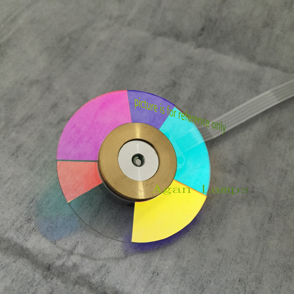 цены 100% NEW Original Projector Color Wheel for Mitsubishi GX-570 Projector wheel color