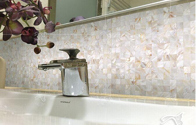 badkamer mozaiek beige: mozaiek natuurs marble tumbled beige mm., Badkamer
