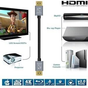 Image 4 - Câble HDMI professionnel 3D Full HD 1080p canal de retour Audio (ARC) 24k plaqué or