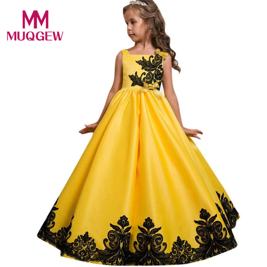 New Year costumes for girls Flower Girl Princess Dress Kid Party Wedding Pageant Formal Tutu Dresses Clothes Vestidos de novia цена