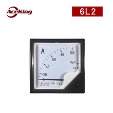 6L2 pointer 200A ac current voltmeter v ammeter mechanically installed meter head 450V6L2B 50/5a 100A/5 200/5a 300/5a
