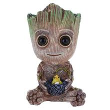Baby Groot Aquarium Decoration Fish Tank Tree Shape Decor Oxygen Pump Air Bubble Stone Air Pump Drive Fish Tank Toy