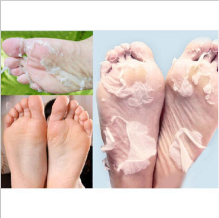 Отшелушивающая маска для ног, увлажняющие носки для ног с бамбуковым уксусом и молоком, пилинг, маска для ухода за кожей, 35 упаковок = 70 шт.