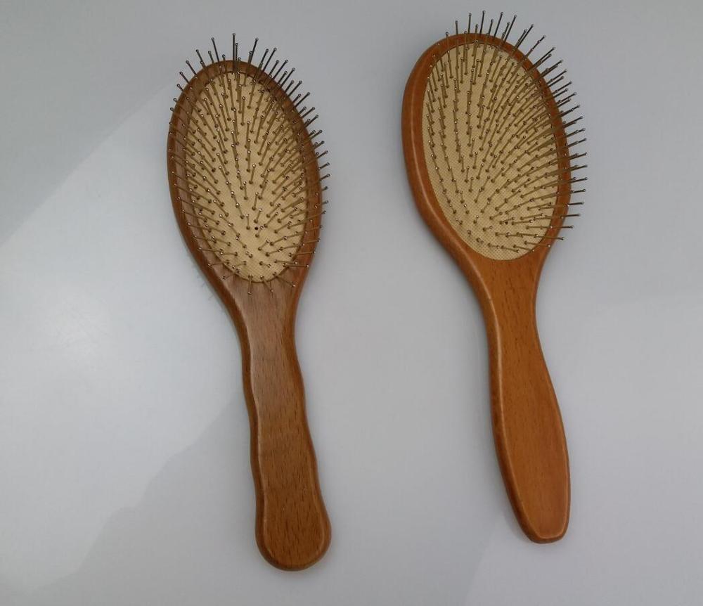 1 pz in acciaio inox setole pettine spazzola per capelli spazzola per capelli paddle spazzola per