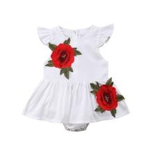2018 Rushed Restricted Cotton Floral Infantil For Bebek Flower Child Women Toddler Romper Tutu Costume Princess Clothes Celebration Outfits