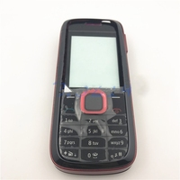 De boa qualidade Para Nokia 5130 Completa habitação + bateria Back cover + Inglês Teclado Com O Logotipo|Estojos de celular| |  -