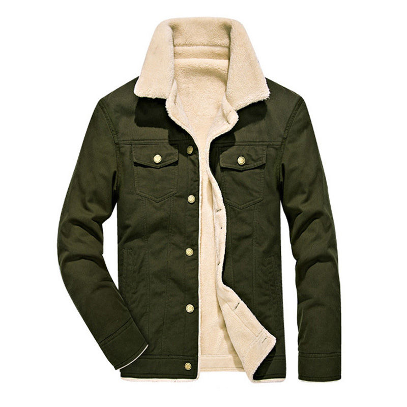 4b24e9c73 US $26.87 52% OFF|Winter Bomber Jacket Men Air Force Pilot MA1 Aviation  Jacket Warm Male fur collar Army Green Jacket tactical Mens Jacket Coats-in  ...