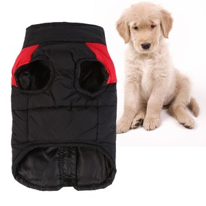 Image 2 - 冬服子犬犬通気性スキーコットンの犬のベスト防水 S 4XL 犬服ペット