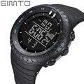2016 GIMTO Led Digital Watch Homens Moda Choque Relógios Desportivos Para Os Homens de Silicone À Prova D' Água Militar Relógio Masculino relogio masculino