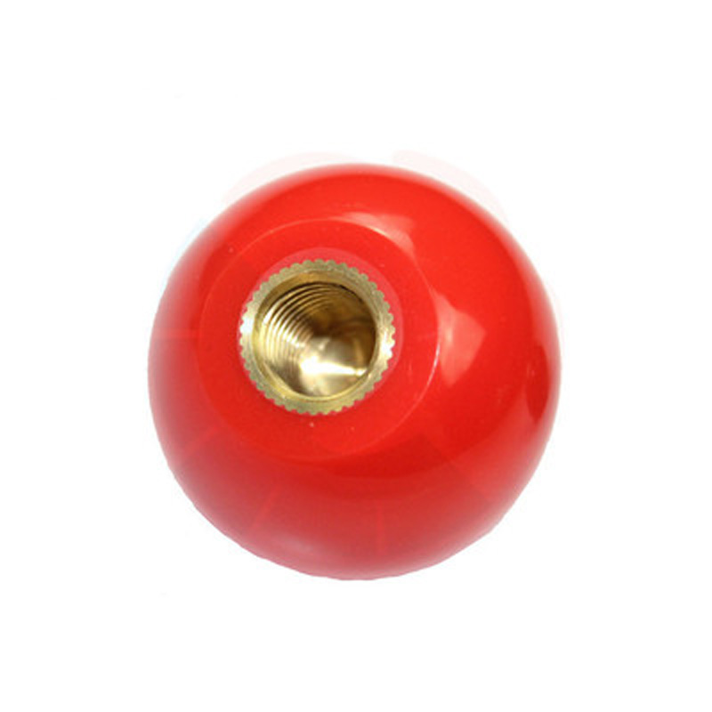 2Pcs M5 M6 M8 M10-M16 Bakelite ball 10mm-50mm OD brass Copper core hand nuts spherical Round Handle mechanical Grip nut red2Pcs M5 M6 M8 M10-M16 Bakelite ball 10mm-50mm OD brass Copper core hand nuts spherical Round Handle mechanical Grip nut red