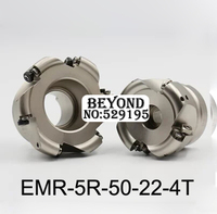 EMR 5R 50 22 4T EMR Round Nose Surface Nc Milling Cutter Cnc Milling Cutter Face