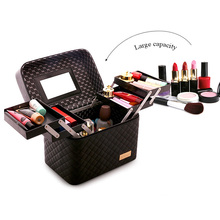 Women Large Capacity Professional Makeup Organizer