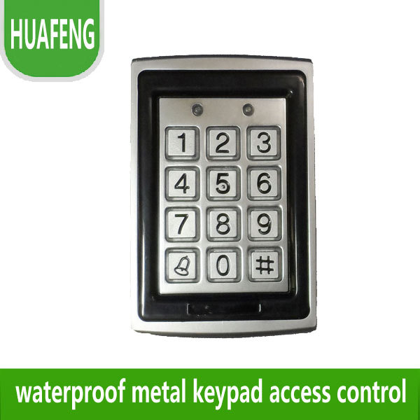 ФОТО Free shipping ,125KHZ Single Door Access Control with Metal casing, Waterproof Standalone Access Control ,model: 7612
