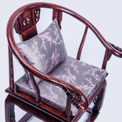 Elegant Chinese Silk Cushion Seat Cover Sofa Chair Rectangle Cushion Cover <font><b>Pillow</b></font> <font><b>Case</b></font> <font><b>30x50</b></font> Decorative Lumbar <font><b>Pillow</b></font> Covers image