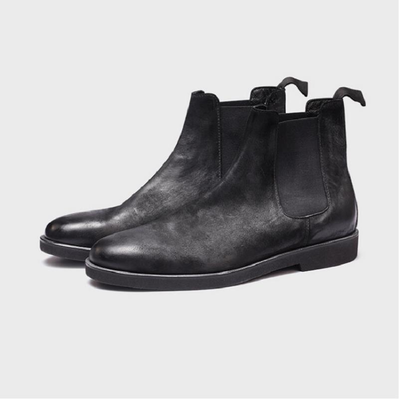 Botte Qualidade Boots Preto Northmarch Genuíno Estilo Conforto De Ankle Alta Luxo Couro Sapatos Homens Inglaterra Marca Da Outono Dos Inverno Botas aHfq1a