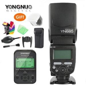 Image 1 - Yongnuo YN685 GN60 Không Dây Đèn Flash HSS TTL Tích 1/8000 S Đài Phát Thanh Nô Lệ Chế Độ YN622C TC/YN622N/TX Cho Nikon Máy Ảnh Canon