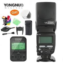 Yongnuo YN685 GN60 אלחוטי פלאש Speedlite HSS TTL מובנה 1/8000s רדיו סלייב מצב YN622C TC/YN622N/TX עבור ניקון קנון מצלמה