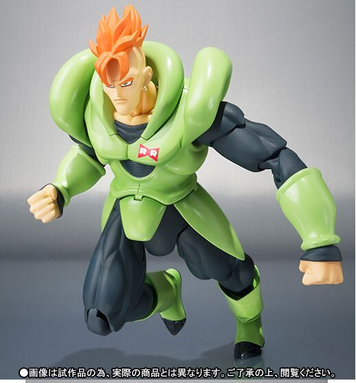 Android 16 Dragon ball Z action figure toy 1/12-in Action & Toy Figures from Toys & Hobbies    3