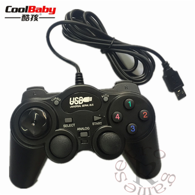 Wired Joypad Gamepads Gamepad <font><b>Joystick</b></font> USB2.0 Shock Game Controller For PC <font><b>Laptop</b></font> Computer Good Gift image