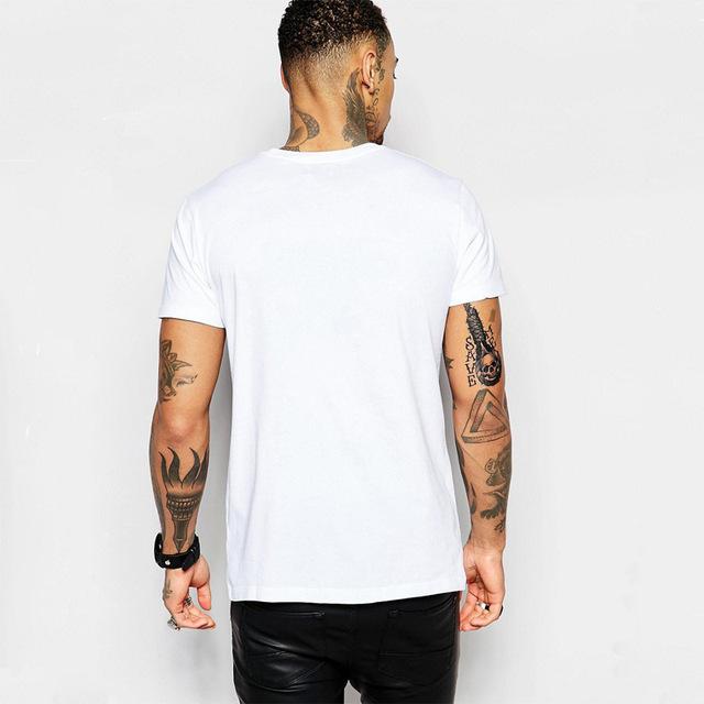 Longbeard Headphones Skull T-shirt for Men