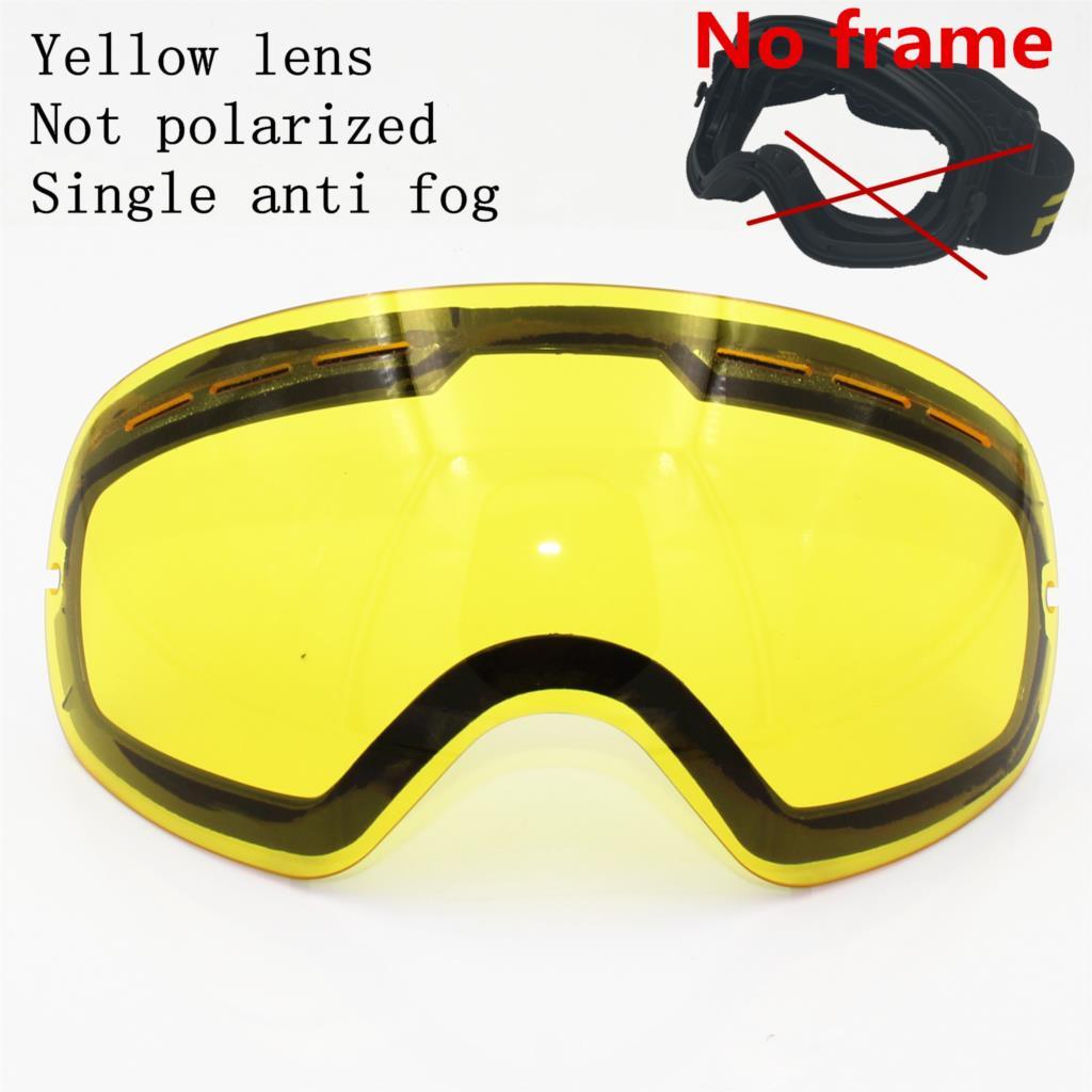 Yellow lens(No frame