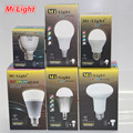Mi Светодиодные Лампы ПЕРЕМЕННОГО ТОКА 85-265 В 110 В 220 В GU10 E14 E27 Светодиодные Лампы 2.4 Г Беспроводной Wi-Fi Управления 4 Вт 5 Вт 6 Вт 8 Вт 9 Вт RGBW RGBWW CW/WW Led лампы