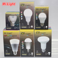 Mi Light LED Bulb AC 85-265V 110V 220V GU10 E14 E27 Led Lamp 2.4G Wireless Wifi Control 4W 5W 6W 8W 9W RGBW RGBWW CW/WW Led Bulb