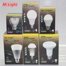 Mi Light LED Bulb AC 85-265V 110V 220V GU10 E14 E27 Led Lamp 2.4G Wireless Wifi Control 4W 5W 6W 8W 9W RGBW RGBWW CW/WW Led Bulb